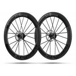 Paire roues Lightweight FERNWEG C DISC 63 SCHWARZ EDITION -NEW 2019