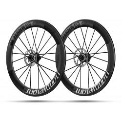 Paire roues Lightweight FERNWEG C DISC 63 White label - NEW 2019