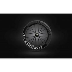 Roue arriere Lightweight FERNWEG C 85 White label - NEW 2019