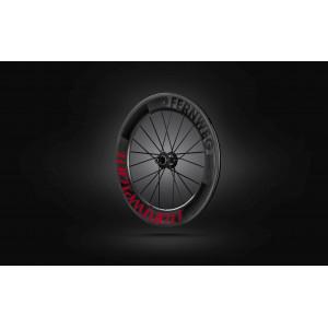 Roue arriere à Boyau Lightweight FERNWEG T 85 Red label - NEW 2019