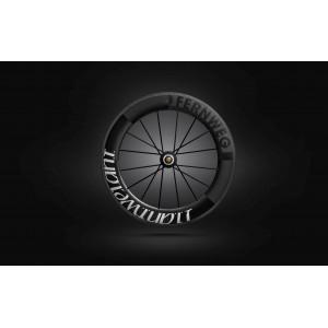 Paire roues Lightweight FERNWEG T 85 White label - NEW 2019