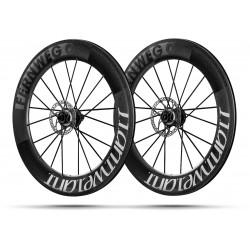 Paire roues Lightweight FERNWEG C DISC 85 White label - NEW 2019